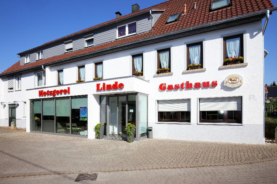 Metzgerei Schwarz, Gasthaus Linde - defti
